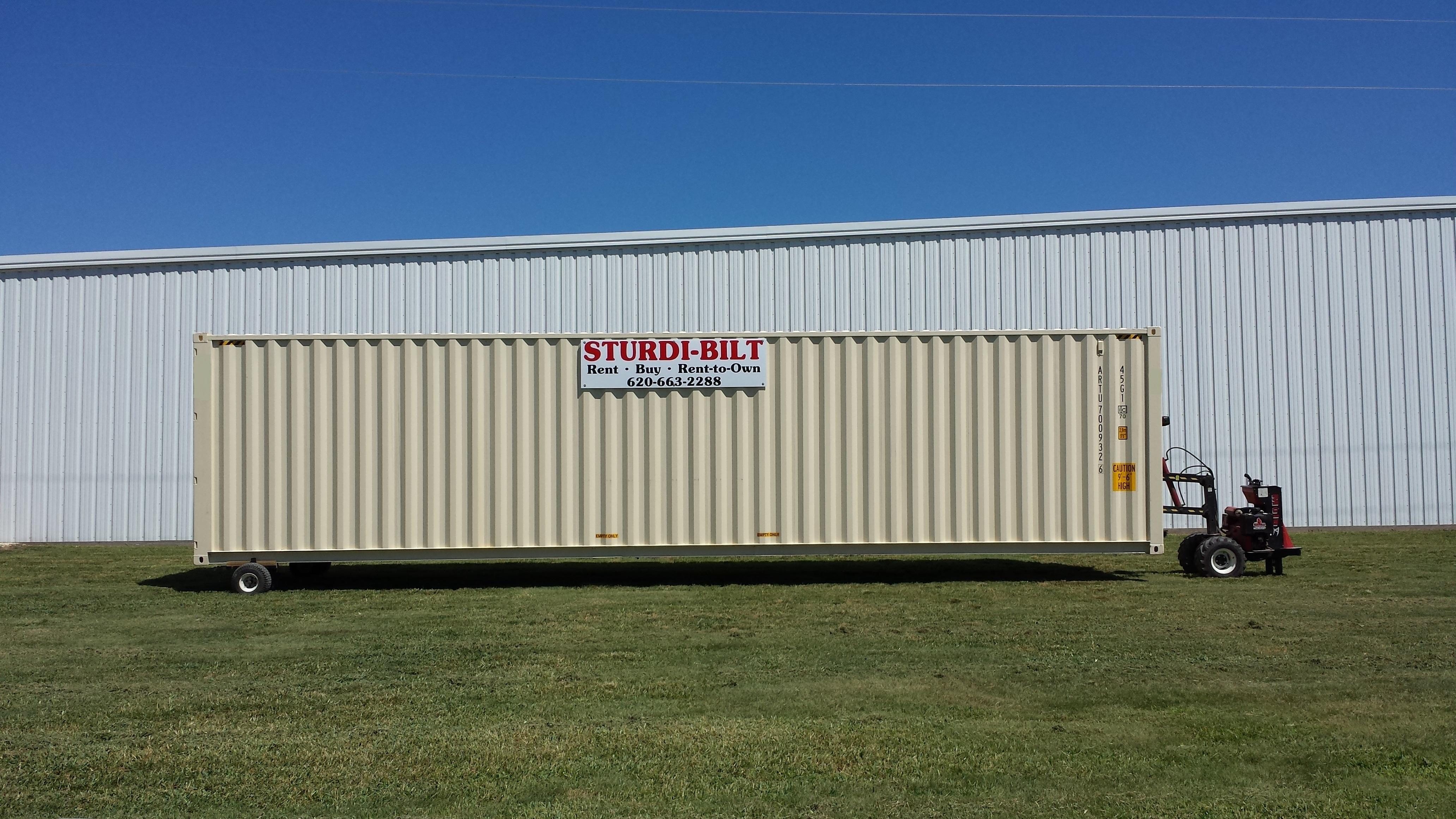 Rent To Own Storage Containers Part - 26: Sturdi-Bilt
